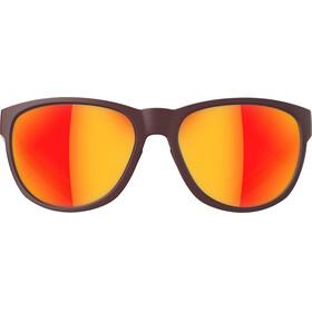 adidas Wildcharge Okulary rowerowe brązowy/czerwony